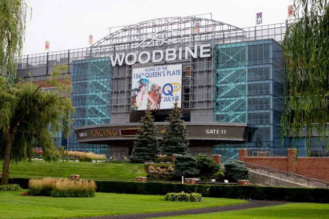 Woodbine main entrance
